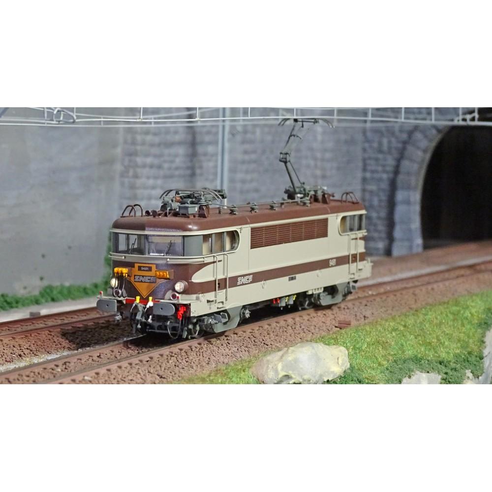 Ls Models 10224 Locomotive électrique BB 9481 SNCF, livrée Arzens, logo nouilles