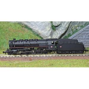 Fleischmann 714407 Locomotive à vapeur 150 X, SNCF, échelle N