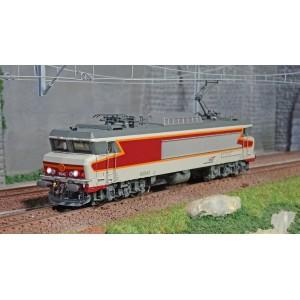 Jouef HJ2370S Locomotive électrique CC 6543, SNCF, livré Béton rouge, digital sonore