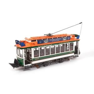 OcCre 53011 Tram Buenos Aires 1/24 kit construction bois métal