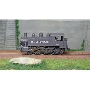 Ree Modeles MB041S Locomotive à vapeur 030 TU WD-1405 Brussels, War Department, digitale sonore, fumigène
