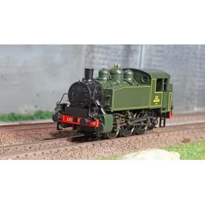 Ree Modeles MB102.S Locomotive à vapeur 030 TU SNCF 56 Ouest, Sotteville, digitale sonore, fumigène