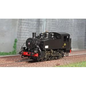 Ree Modeles MB103S Locomotive à vapeur 030 TU SNCF 25 Nord, La Chapelle, digitale sonore, fumigène