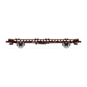 Ree modeles WB634 Wagon UFR Biporteur brun HR, vide