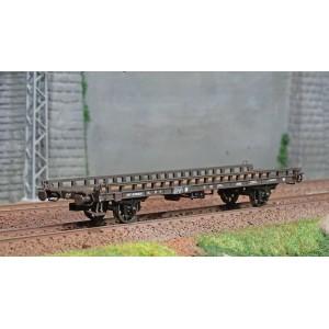 Ree modeles WB634 Wagon UFR Biporteur HR brun, vide