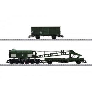 Trix 23057 Grue à vapeur Ardelt 57 T, DB, digitale sonore