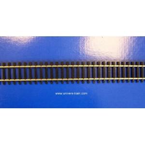 Jouef R601 Rails droit longueur 335mm avec éclisses