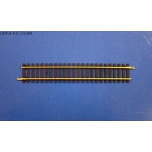 Jouef Hornby R600 Rail droit longueur 168mm avec éclisses
