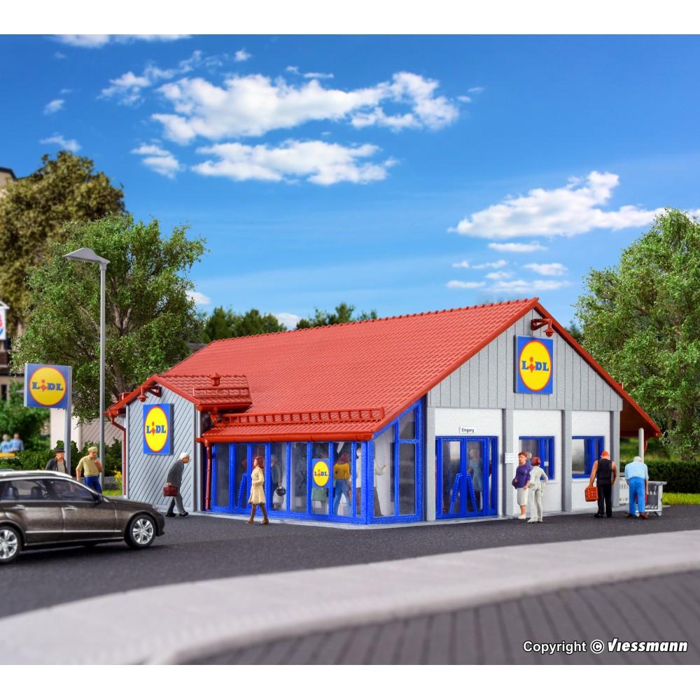 Vollmer 43662 Maquette, Supermarché LIDL
