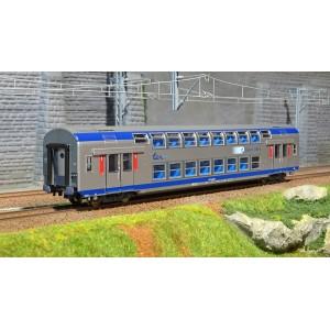 ViTrains 3164L Voiture voyageurs VO2N SNCF, livré TER, 1ère classe, Région Centre, avec éclairage