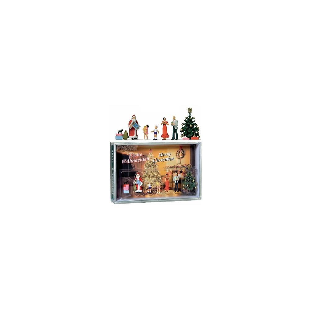 Preiser 10652 Personnages, Joyeux Noël