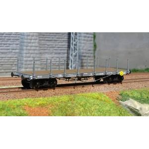 Ree modeles WB 508 Wagon Plat TP, bogies, ep. II, NORD