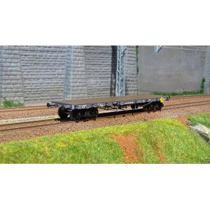 Ree modeles WB 509 Wagon Plat TP, bogies, ranchers hauts, ep. II, PLM