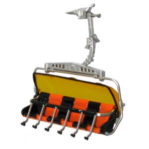 Jaegerndorfer 82150 Remonté mécanique, télésiège Orange Noir pour remonte pente