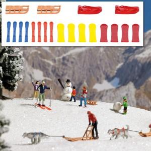 Busch 7769 Traineaux et skis