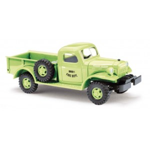 Busch 44036 Voiture Dodge Power Wagon, fire departement