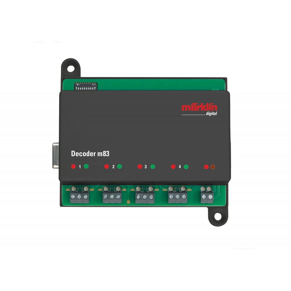 Marklin 60832 Décodeur digital M83, aiguillages, signaux...