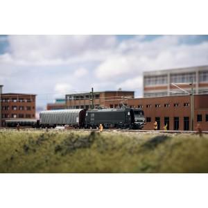 MiniTrix 11147 Coffret de départ train marchandise électrique MRCE série 185.1, digital sonore, échelle N