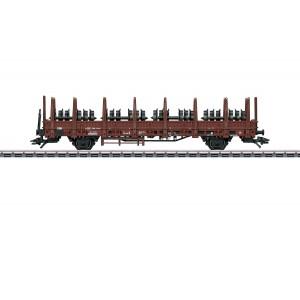 Marklin 46938 Wagon à ranchers Kbs 442, chargé d'essieux