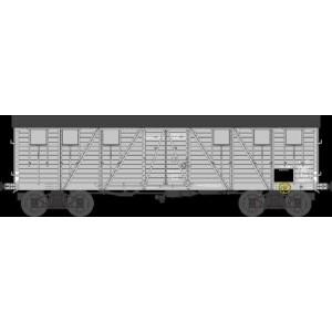 Ree modeles WB 520 Wagon Couvert TP 2 Portes, bogies, ep. II, PO