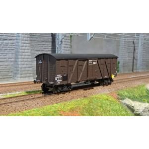 Ree modeles WB 522 Wagon Couvert TP 2 Portes, bogies, ep. IIIa, SNCF