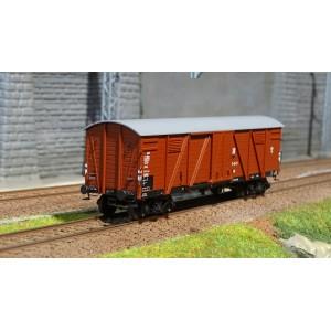 Ree modeles WB 527 Wagon Couvert TP 2 Portes, bogies, ep. III, DR