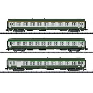 """MiniTrix 15372 Set de 2 voitures de grandes lignes """"Orient-Express"""", SNCF, échellle N"""