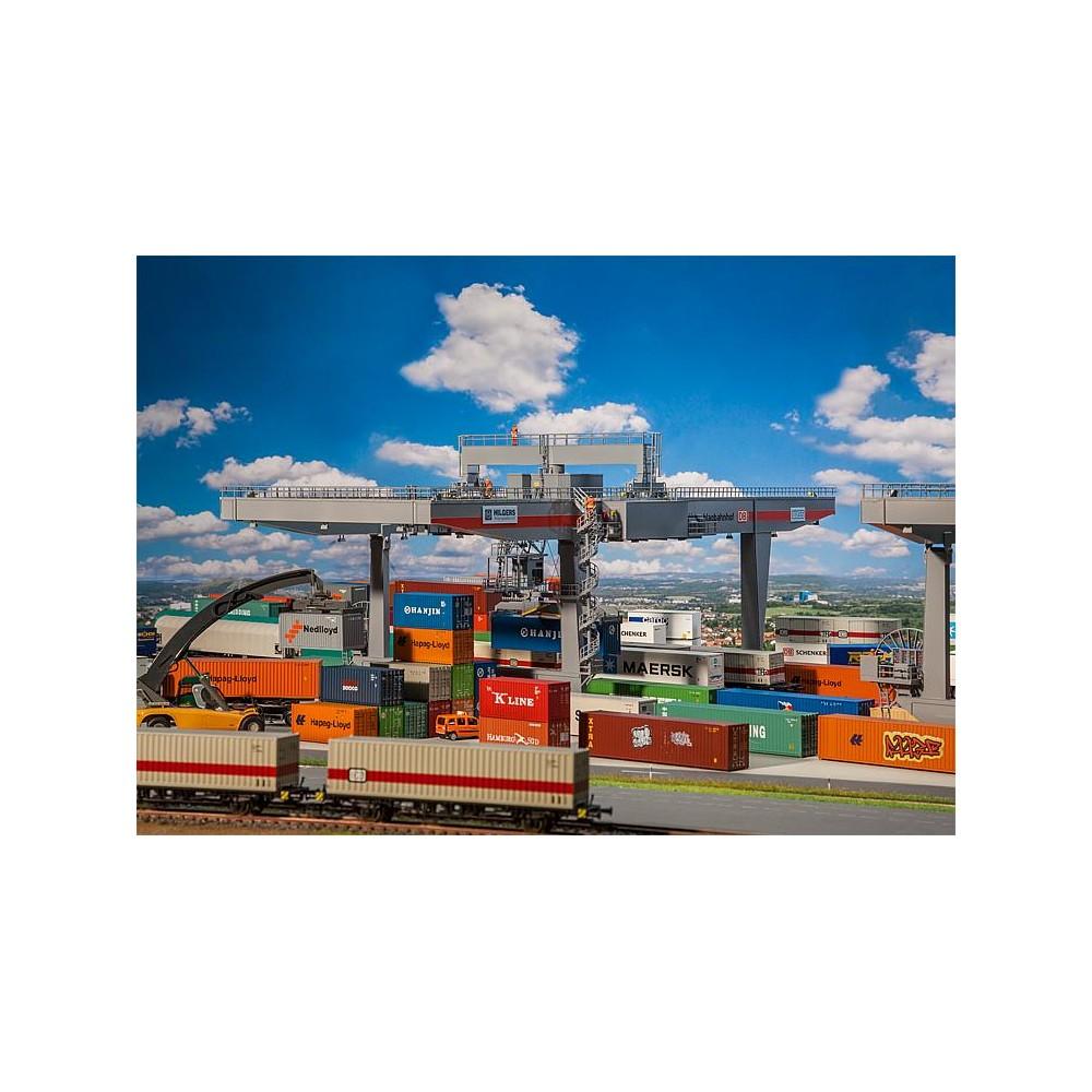 Faller 120290 Maquette, Portique à conteneurs