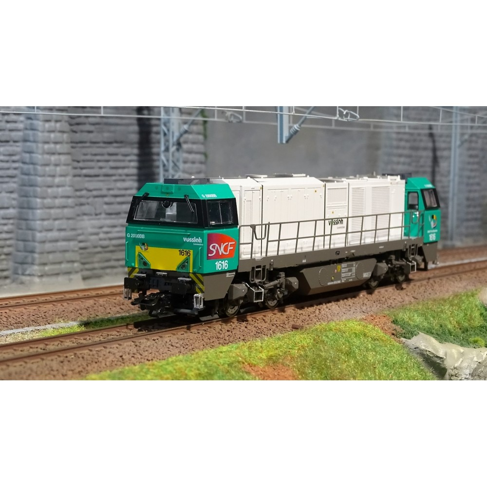 Marklin 37209 Locomotive diesel Vossloh G 2000 BB, digitale sonore, 3 Rails