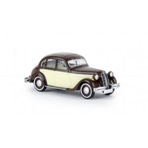 Brekina 24560 BMW 326, brune et beige