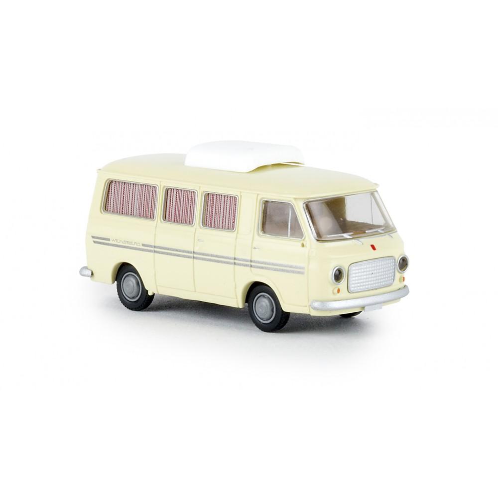 Brekina 34407 Camping-car Fiat 238, ivoire