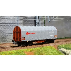Roco 76447 Wagon à bâche coulissante Ermewa à bogies, Arcelor Mittal