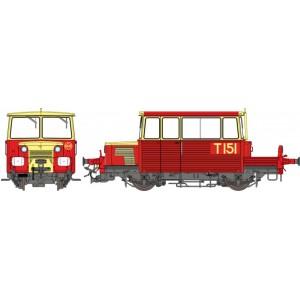 Ree Modeles MB-111 Draisine DU65, phare à disques, RATP, toit rouge