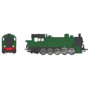 Ree Modeles MBE 005 Locomotive à vapeur T-16 Ex-Allemande, PLM 5 AT 29, sonore, fumée