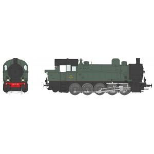 Ree Modeles MBE 006 Locomotive à vapeur T-16 Ex-Allemande, SNCF 050 TA 28 Sud-Est, sonore, fumée