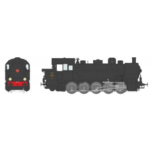 Ree Modeles MBE 008 Locomotive à vapeur T-16 Ex-Allemande, SNCF 050 TB 11 Nord, dépôt de La Plaine, sonore, fumée
