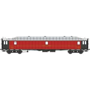 Ree Modeles VB 077 Voiture postale ambulant OCEM 21.6m, PAyi rouge foncé, ETAT