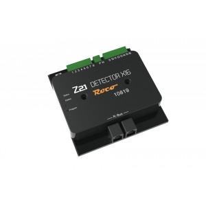 Roco 10819 Rétrosignalisation, détecteur d'occupation Z21 x16