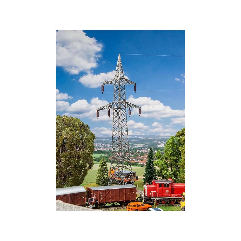 Faller 130898 Maquette, 2 Pylônes de câbles aériens (110 kV)