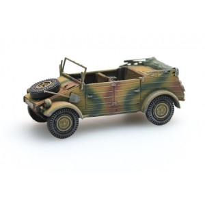 Artitec 387.77-CM Véhicule allemand Kübelwagen VW82 Camouflage