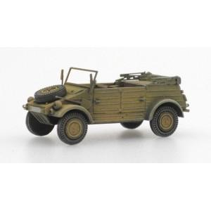Artitec 387.77-YW Véhicule allemand Kübelwagen VW82 Jaune sable