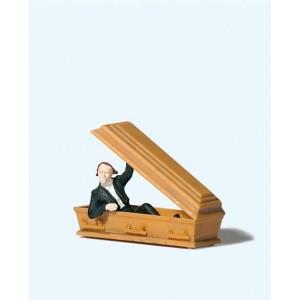 Preiser 29113 personnage, Vampire ouvrant son cercueil