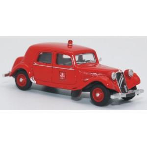 SAI 6123 Citroën Traction 11B 1952, pompiers de Lille