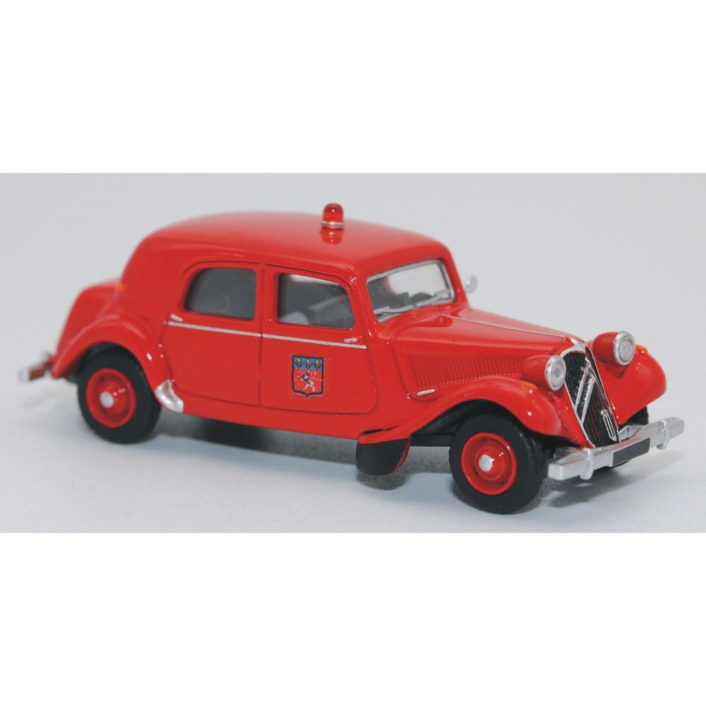 SAI 6124 Citroën Traction 11B 1952, pompiers de Lyon