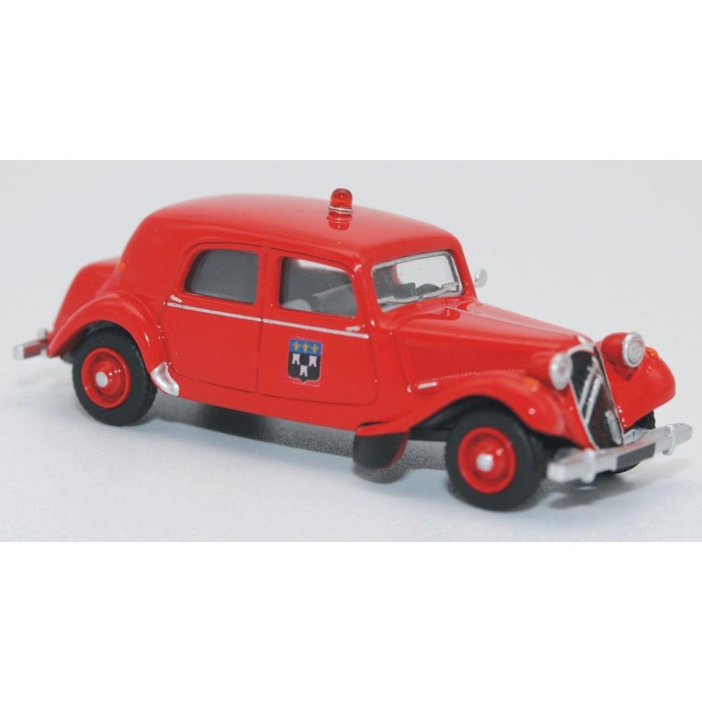 SAI 6125 Citroën Traction 11B 1952, pompiers de Tours