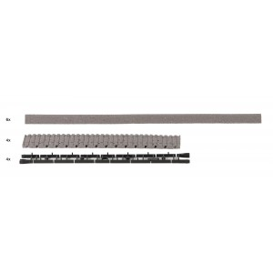 Rocoline ballast 42660 Ballast pour voie flexible avec traverse en bois