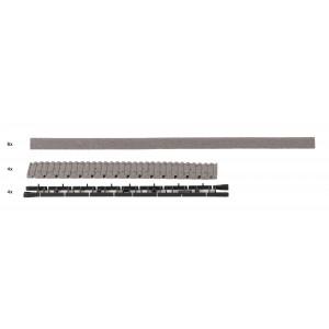 Rocoline ballast 42661 Ballast pour voie flexible avec traverse en béton
