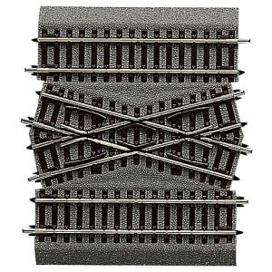 Rocoline ballast 42598 Pièce centrale pour jonction de voie double DGV15
