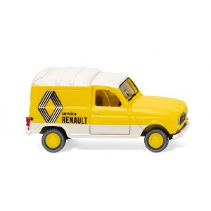 """Wiking 022503 Renault R4, Fourgonnette """"Renault Service"""""""