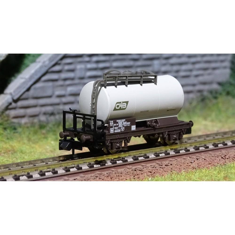 MiniTrix 18084 Wagons citerne, SNCB, CAIB, échelle N